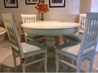 Обеденная группа с круглым столом - Мебельная фабрика «Лидер»
