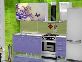 Фиолетовая кухня Бабочки