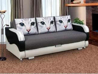 Диван с фотопечатью на подушках