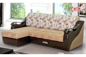 Угловой диван Сити - Мебельная фабрика «Барокко»