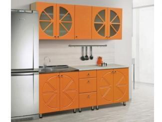 Кухня Апельсин МДФ+ПВХ