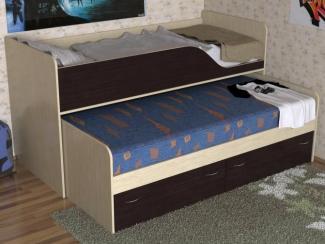 Кровать детская Дуэт 2 - Мебельная фабрика «Мезонин мебель»