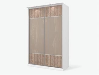 Шкаф-купе с подсветкой Пэйнт  - Изготовление мебели на заказ «Кухни ЧУ»