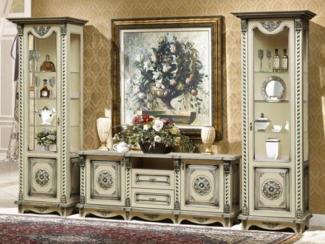 Гостиная стенка Жасмин - Мебельная фабрика «Аристократ»