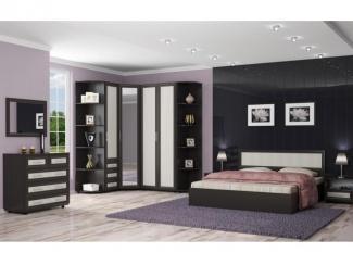 Спальный гарнитур Техно 1 - Мебельная фабрика «Элика мебель»