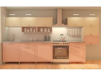 кухня прямая БельКанто фасады МДФ - Мебельная фабрика «Форс»