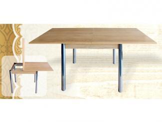 Стол-книжка выдвижной на металлокаркасе - Мебельная фабрика «Кипарис»
