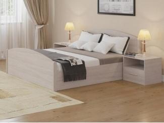 Двухспальная кровать DEBUT