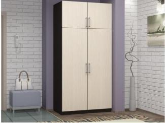 Шкаф двухстворчатый  - Мебельная фабрика «КорпусМебель»