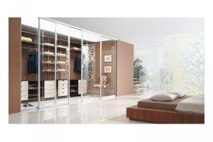 Большой встроенный шкаф-купе - Мебельная фабрика «Командор»