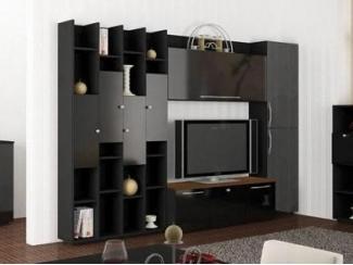 Гостиная в черном цвете Оскар  - Мебельная фабрика «Интерьер»