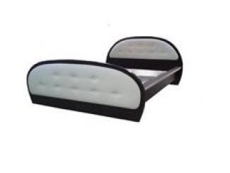 Кровать с мягкими спинками  - Мебельная фабрика «Муром (ЗАО Муром)»