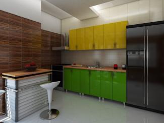 Кухня прямая Мэнди пластик - Мебельная фабрика «Вариант М»