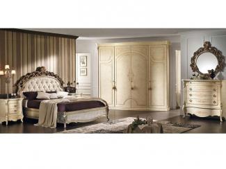 Спальня VICTORIA stucco - Импортёр мебели «Мебель-Кит»