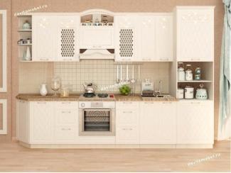 Кухонный гарнитур прямой Тиффани 21 - Мебельная фабрика «Витра»