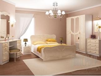 Спальный гарнитур Натали 4 - Мебельная фабрика «Интерьер-центр»