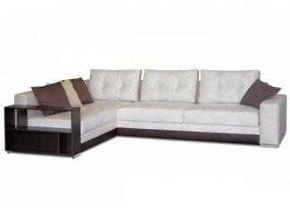 Уютный угловой диван с полочками Тейлор  - Мебельная фабрика «Могилёвмебель», г. - не указан -
