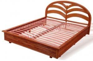 Кровать с изголовьем - Импортёр мебели «Элит-Ротанг»