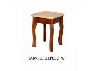 Табурет дерево 1 - Мебельная фабрика «Мир стульев», г. Кузнецк