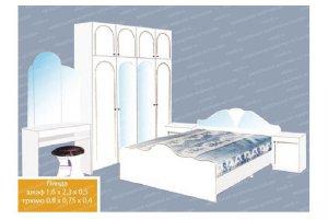 Спальный гарнитур 4 - Мебельная фабрика «МФА»