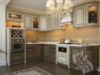 Кухня Валенсия массив - Мебельная фабрика «АСТ-мебель»