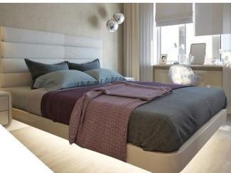 Кровать с подсветкой - Мебельная фабрика «Furniture Design»