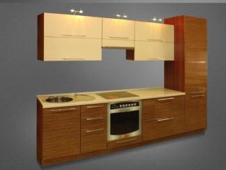 Кухня прямая Зебрано - Мебельная фабрика «Нильс»