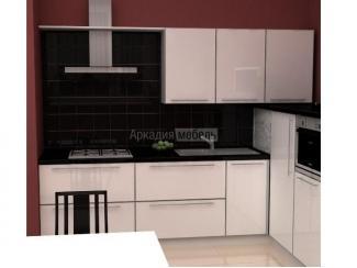 Белая кухня Энергия 2 в стиле модерн - Мебельная фабрика «Аркадия-Мебель»