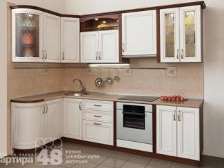 Кухонный гарнитур угловой ЛИЛИЯ 1 - Мебельная фабрика «Квартира 48 (Камеа)»