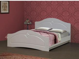 Кровать Соня-6 с фасадом жемчуг