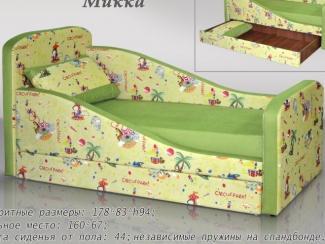 Диван прямой Микка - Мебельная фабрика «Мебель Холдинг»