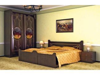 Спальный гарнитур Охотничий домик - Мебельная фабрика «Эльф»
