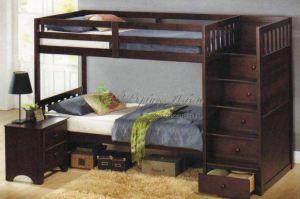 Детская Двухъярусная кровать 4 - Мебельная фабрика «Верба-Мебель»