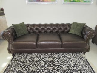 Диван прямой Плаза 2.1 - Мебельная фабрика «Новая мебель»