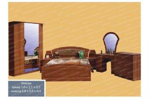 Спальный гарнитур 9 - Мебельная фабрика «МФА»