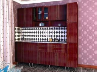 кухня прямая «Виктория 3» - Мебельная фабрика «Мир Мебели»