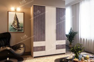 Шкаф Престиж 2 - Мебельная фабрика «Контур»