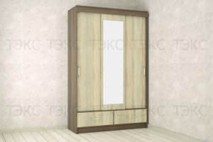 Шкаф Уют 1400 - Мебельная фабрика «ТЭКС»