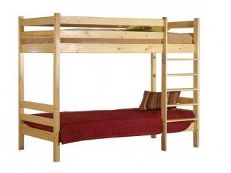 Кровать 2-ярусная Классик - Мебельная фабрика «Timberica»