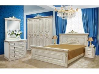 Спальный гарнитур Кайман в белом цвете - Мебельная фабрика «Ахтамар», г. Барнаул