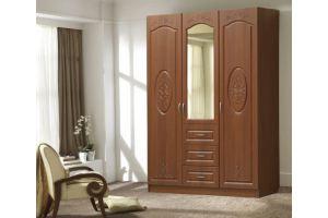 Шкаф Бостон 3х створчатый, 3 ящика - Мебельная фабрика «Аристократ»