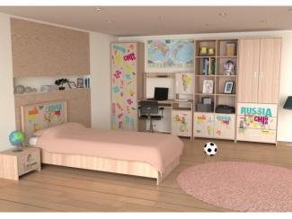 Модульная система Улыбка-4 - Мебельная фабрика «Глория»