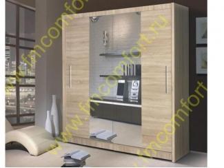 Шкаф в спальню Нова  - Мебельная фабрика «Комфорт»