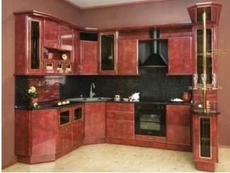 Красивый кухонный гарнитур с барной стойкой - Мебельная фабрика «Перспектива»