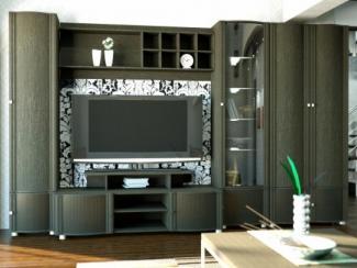 Гостиная стенка Аккорд модерн 10 - Мебельная фабрика «Славянская мебельная компания (СМК)»