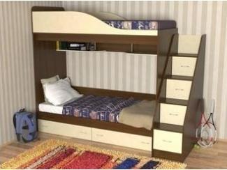 Двухъярусная детская Маркус - Мебельная фабрика «Мебель Цивилизации»