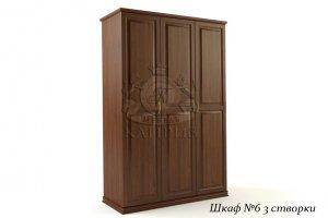 Шкаф-6 3-х створчатый - Мебельная фабрика «Каприз»