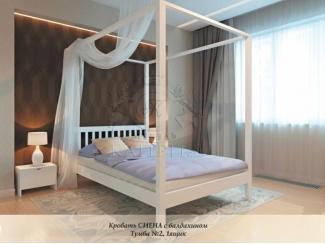 Кровать Сиена с балдахином - Мебельная фабрика «Каприз»