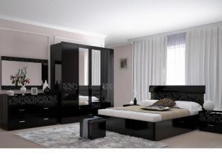 Спальный гарнитур «Белла Блэк»