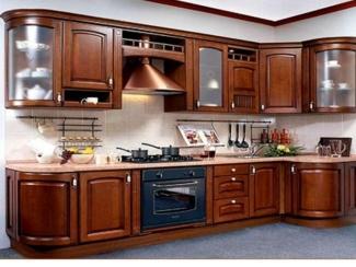 Кухня Массив дуба 2 - Мебельная фабрика «Адаш»